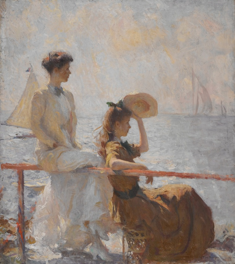 Frank W. Benson (1862-1951) Summer Day 1911 Oil on canvas